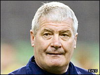 Scotland youth teams coach Archie Knox