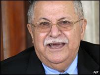 Iraq President Jalal Talabani
