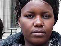 Lucia, Zimbabwean asylum-seeker