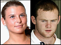 Coleen McLoughlin and Wayne Rooney