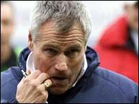 England Under-21 coach Peter Taylor