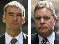 Tommy Sheridan and Mike Jones QC