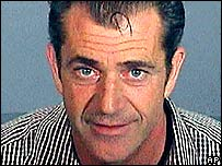 Mel Gibson police mug shot taken after arrest