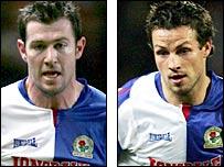 Blackburn pair Brett Emerton and Lucas Neill