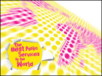 Best public services in the world logo