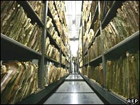The Stasi archives department in Berlin