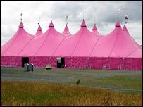 Pafiliwn yr Eisteddfod Genedlaethol