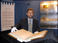 Adrian Ailes and the Domesday Book