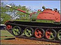 Tanque cubano