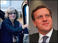 Beverley and John Charman (pics from express.com and Financial Times)