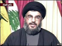 """Лидер ливанской радикальной группировки """"Хезболла"""" Шейх Хасан Насралла"""