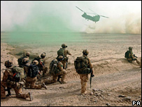Foreign soldiers in Helmand