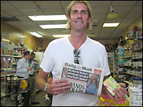 Nick from Wimbledon, buying the Daily Mail