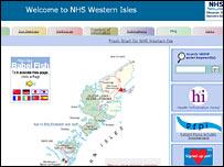 Western Isles Health Board website