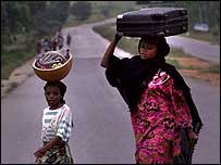 Villagers in Nigeria's Central Plateau state