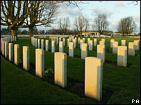 British war cemetery in Bayeux, Normandy (Photo: PA/ Chris Ison)