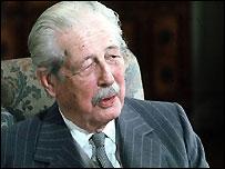 Former Prime Minister Harold Macmillan