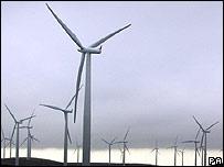 Wind farm in the UK