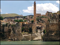 Hasankeyf - picture courtesy Kurdish Human Rights Project