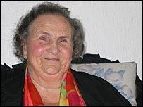 Pensioner Nell McFadden