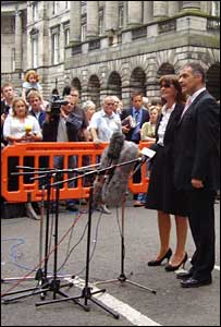 Gail and Tommy Sheridan - Pic by Eric Smith