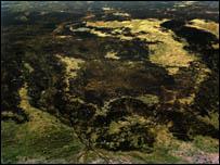 Un o luniau Ffarwel Rock Aled Rhys Hughes