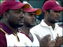 Lara and the West Indies side