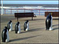 Ornamental penguins
