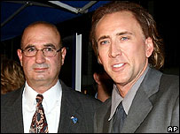 Nicholas Cage and John McLoughlin
