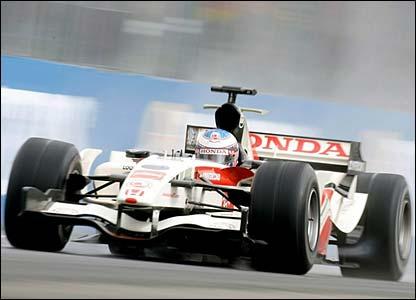 Honda's Jenson Button