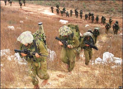 Israeli ground troops in southern Lebanon, in an image provided by the Israeli Defense Force (IDF)