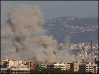 Israeli attack on Beirut