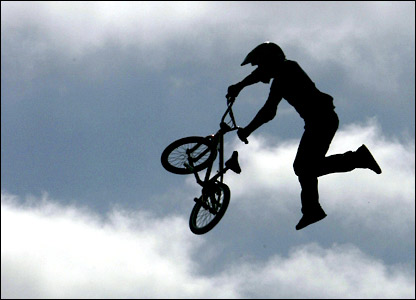 X Games Bmx. part of the X Games 12