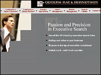 Odgers Ray and Berndtson's website
