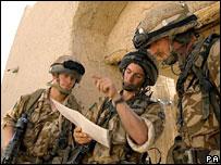 British troops in Musa Qala, Afghanistan