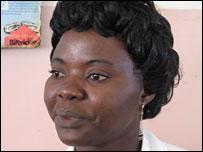Nurse Mimi Kinyanta