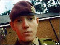 Private Barrie Cutts from the Royal Logistics Corp was the 10th British soldier to  be killed in Afghanistan