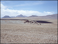 Chile's Chajnantor plateau (Image: Eso)
