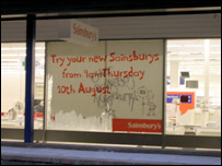 New Sainsbury store