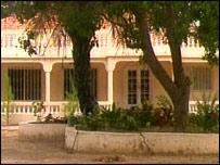 Gambian house