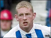 Kilmarnock striker Robert Campbell