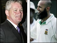 Dean Jones and Hasim Amla