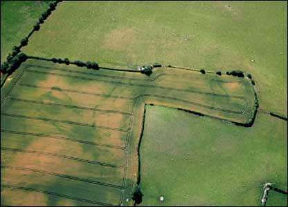 A Neolithic causeway found near Walton in Radnorshire is thought to have been built 6,000 years ago