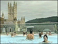 People in Bath Spa