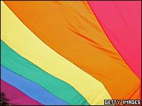 Флаг, символизирующий однополые отношения