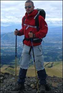 Aaron Goss in Ecuador