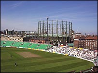 The Oval gasometer