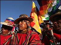 Ind�genas bolivianos