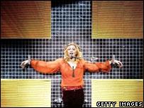 Madonna on Confessions tour