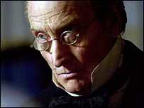 Charles Dance as Tulkinghorn in the BBC's adaptation of Charles Dickens' Bleak House